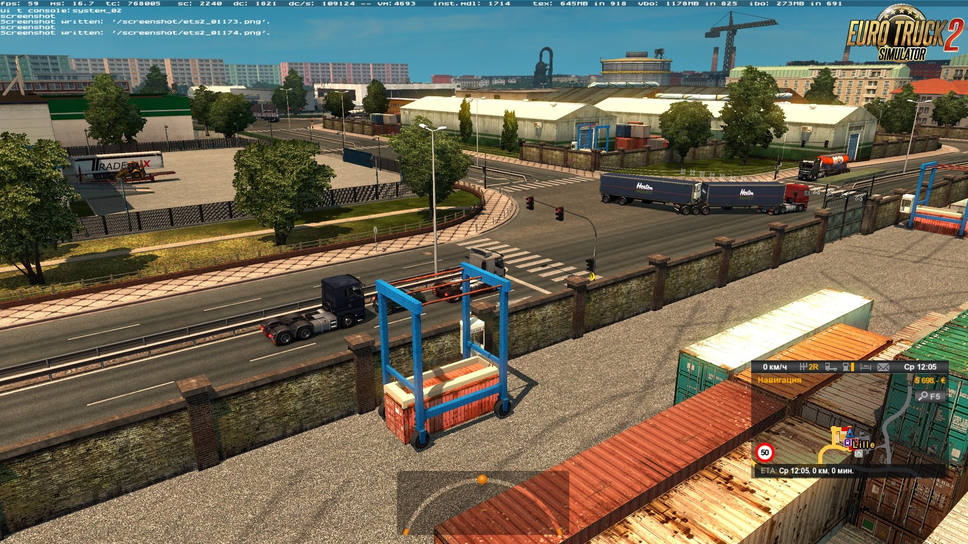 Doubles in Traffic v1.0 for Ets2