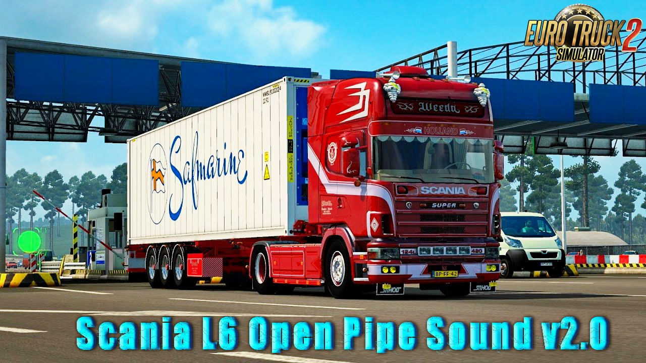 Scania L6 Open Pipe Sound v2.0 (1.26.x)