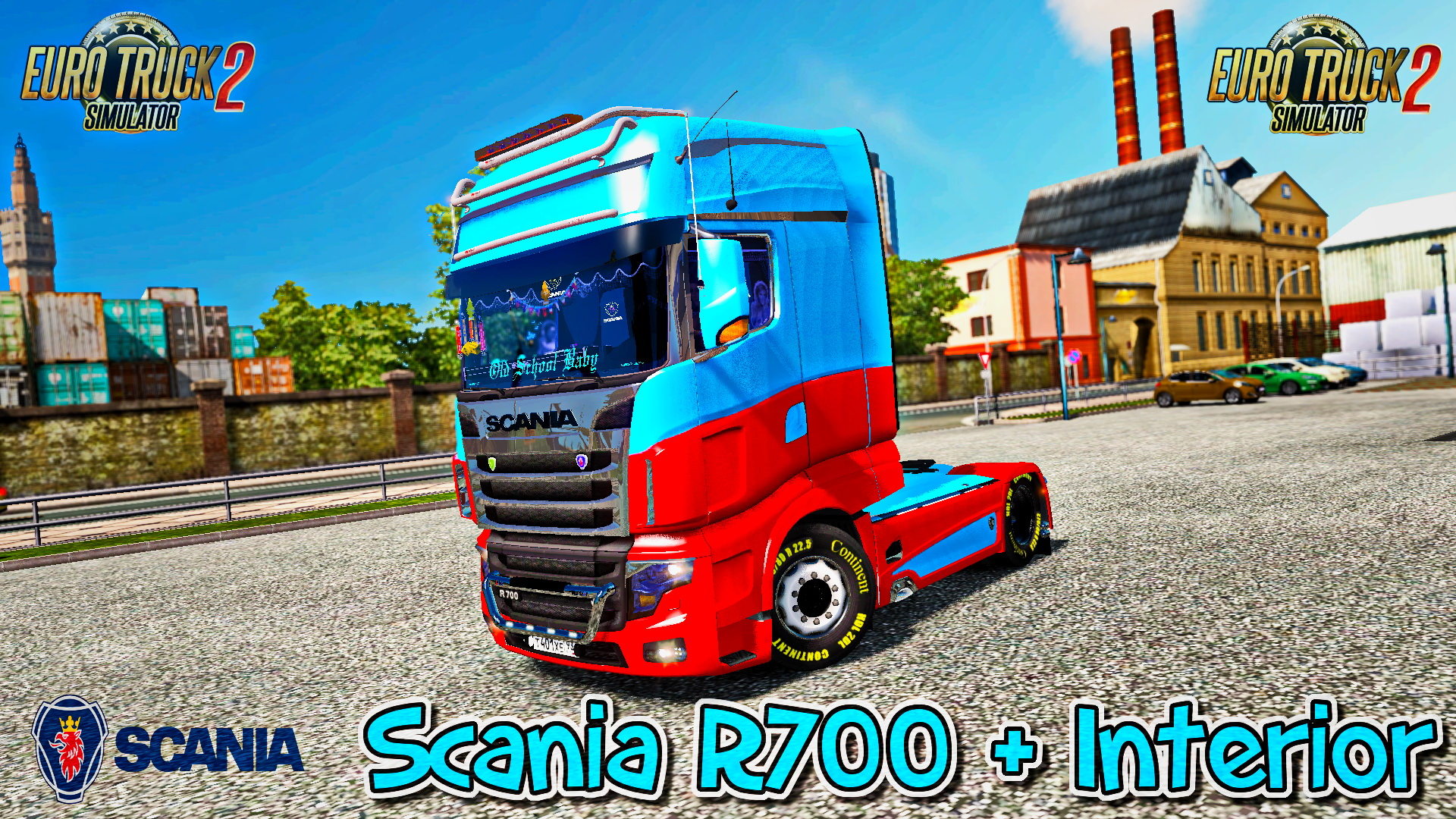 Scania R700 + Interior v1.0 (Updated) (1.27.x)