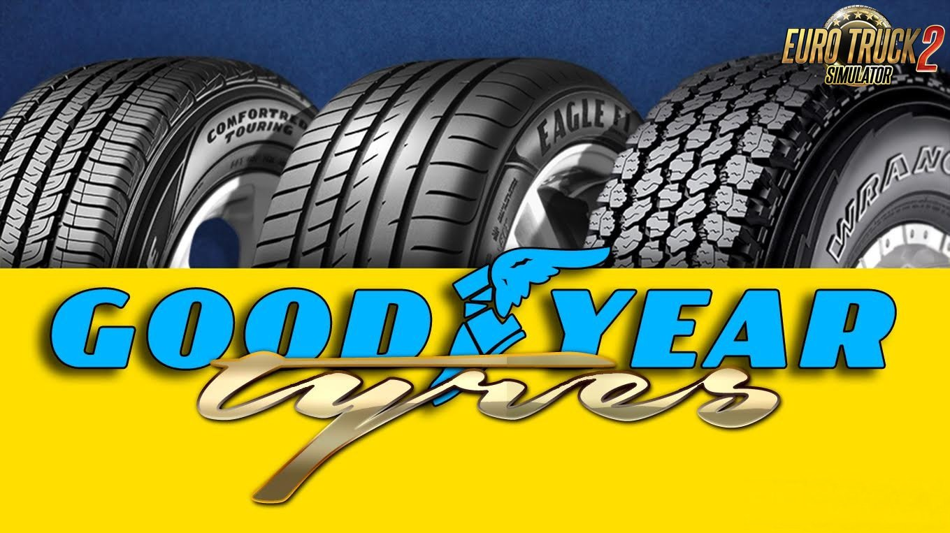 Good Year Tyres for Ets2