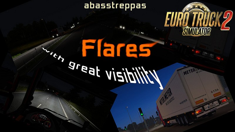 Abasstreppas Flare Pack v1.0 for Ets2