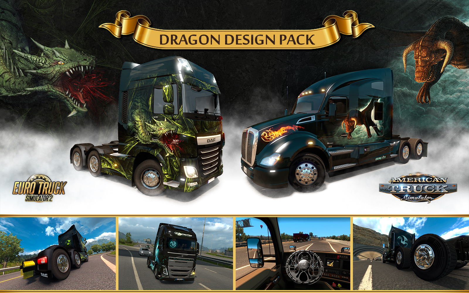Dragon Design Pack + Michelin Fan Pack soon for ETS 2