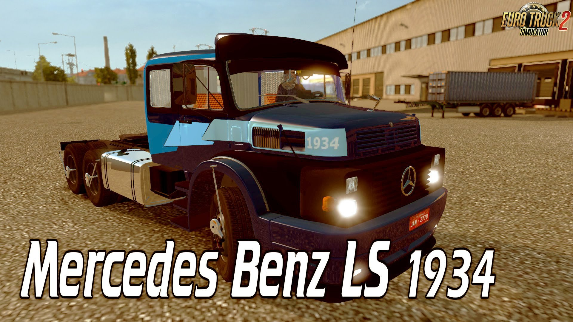 Mercedes Benz LS 1934 + Interior v1.0 (1.26.x)