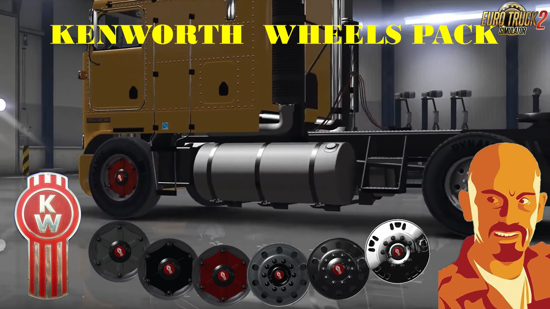 Kenworth Wheels Pack v1.0 (1.26.x)