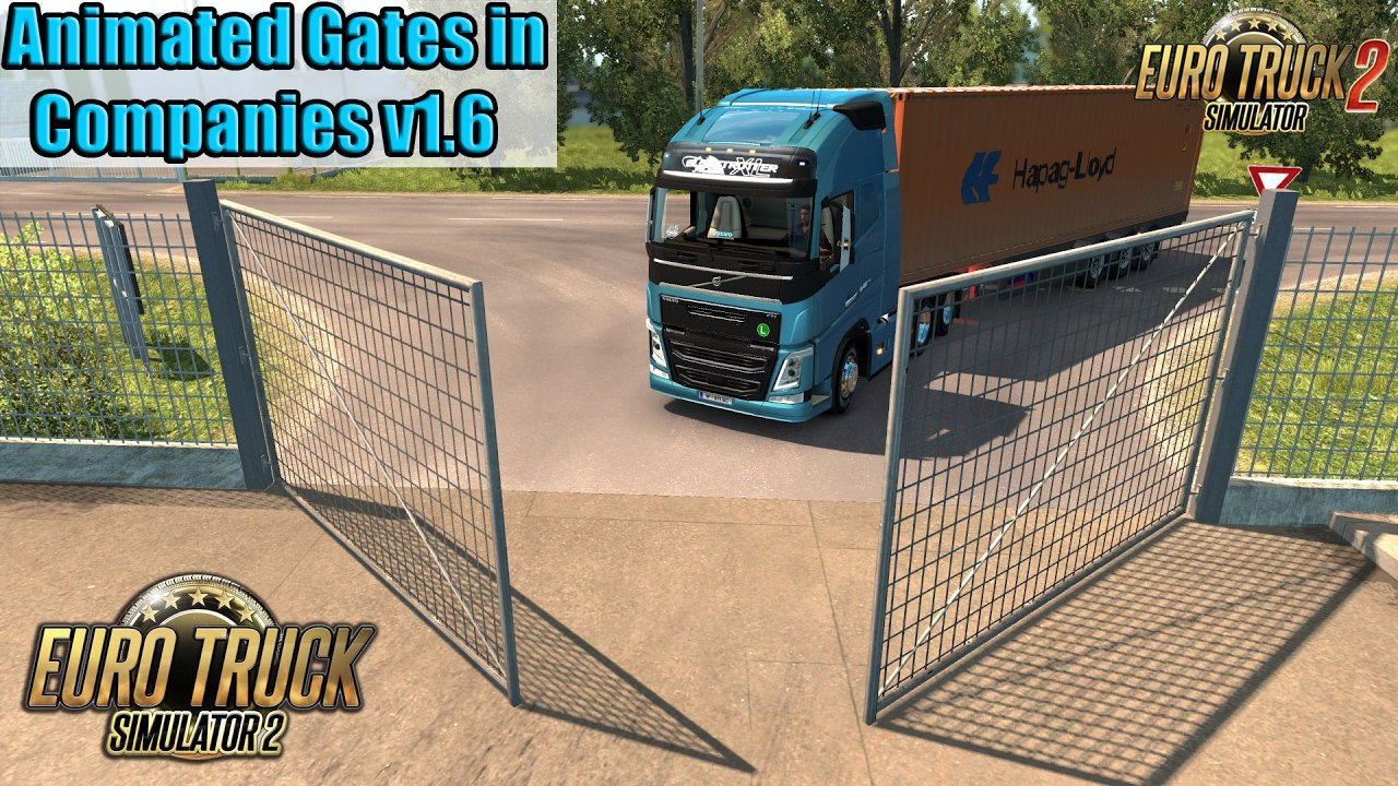 Fix - Animated Gates v1.7 [1.27.2.1]