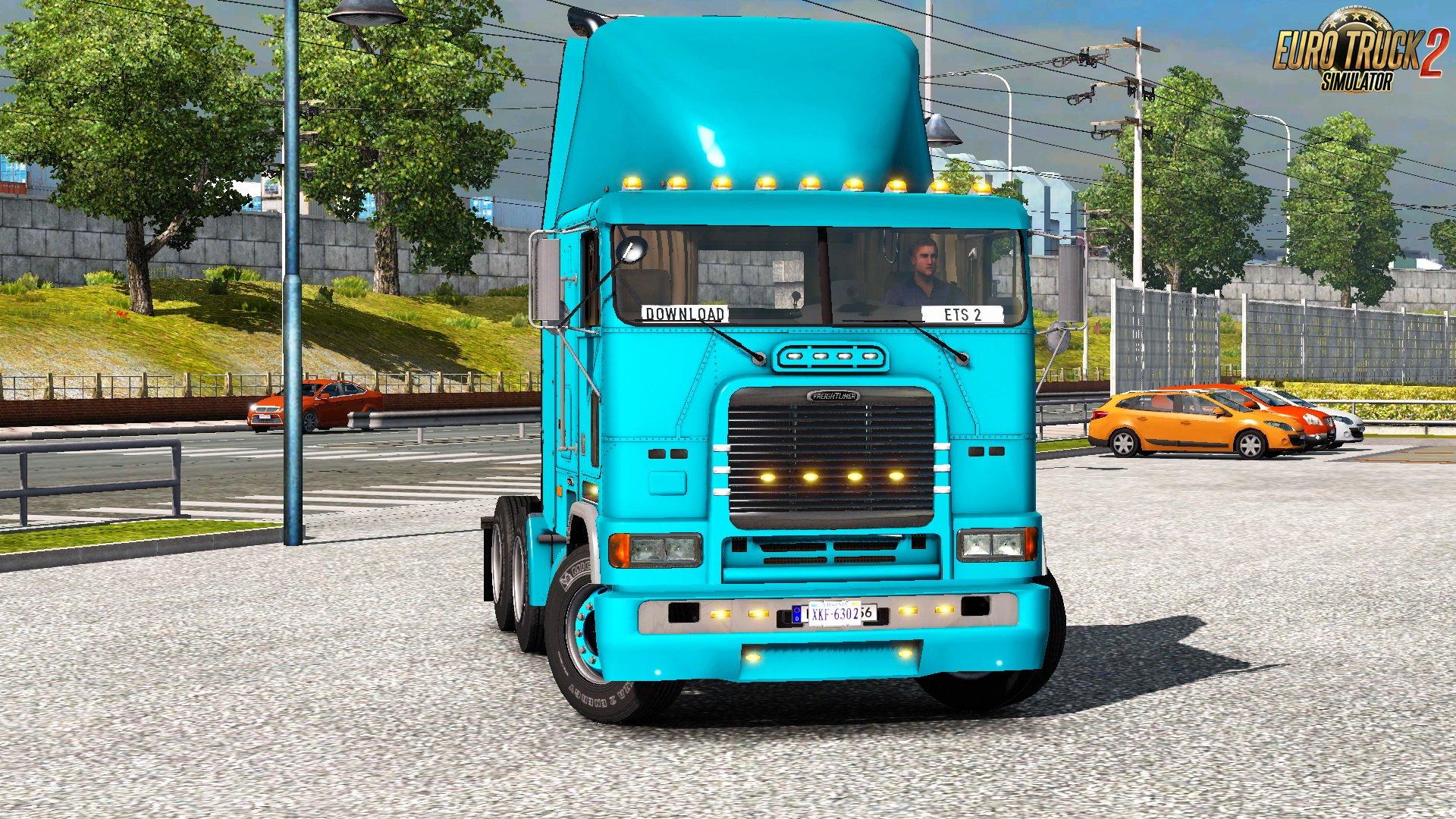 Freightliner FLB v2.0.7 Edit by Harven (1.37.x)