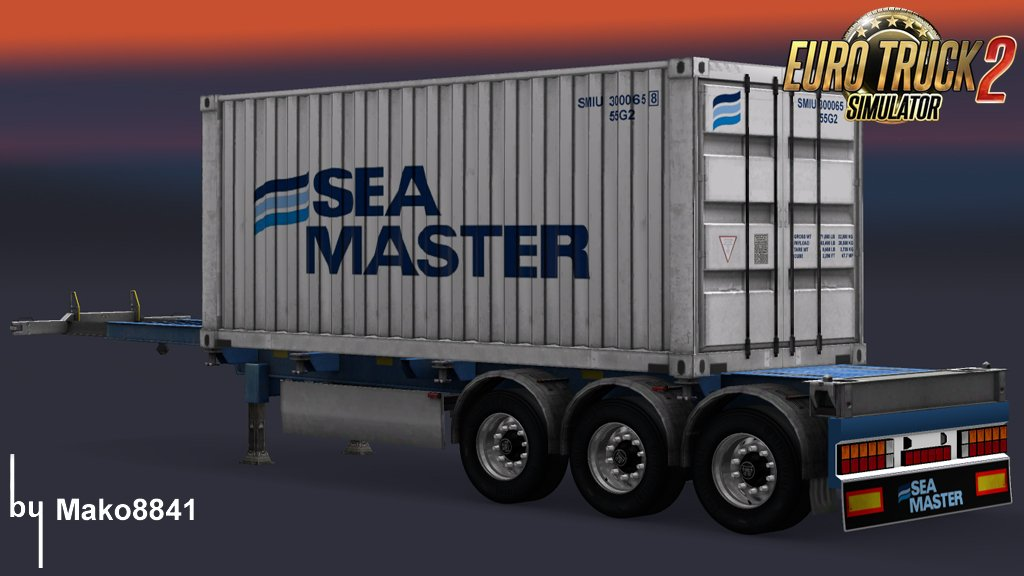 Standalone Container Trailers v1.0