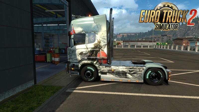 Garages Distance v1.0 for Ets2