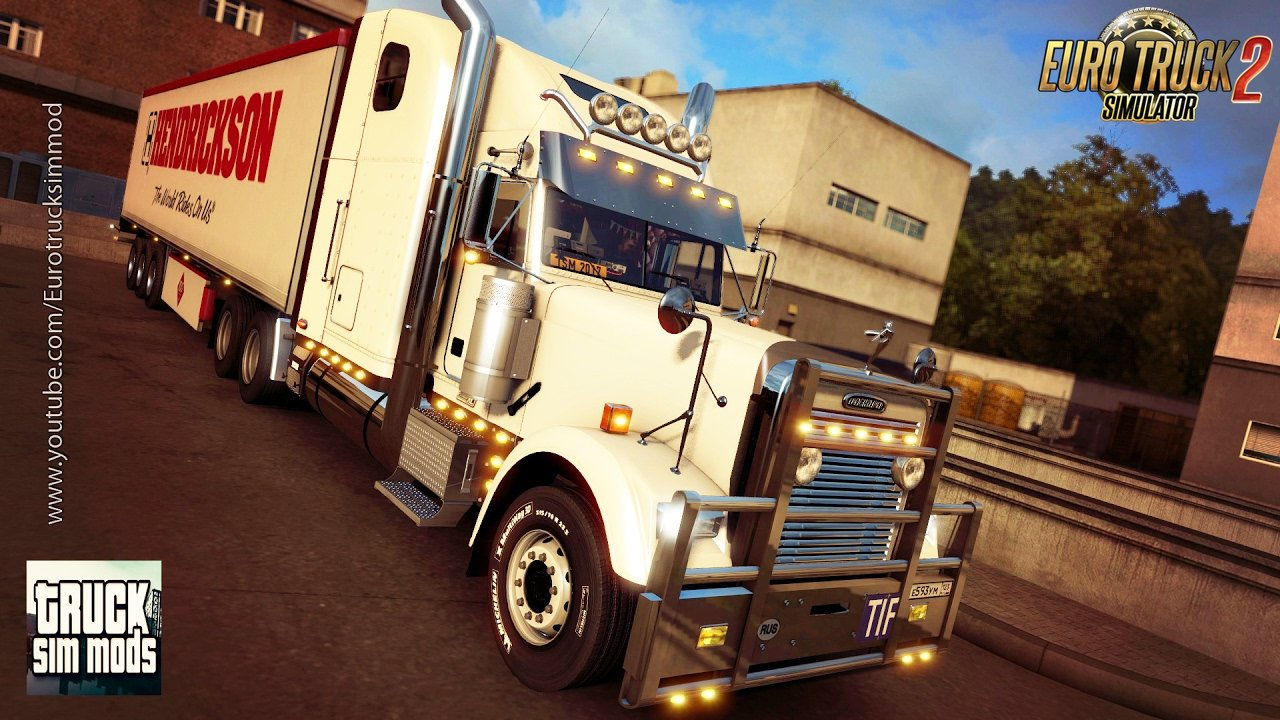 Freightliner Classic XL + Interior v2.0 by odd_fellow (1.26.x)