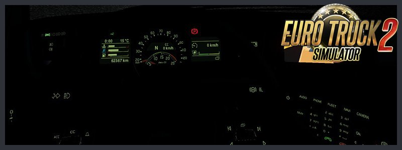 Volvo FH16 2012 - Dashboard Lighting v1.4 by nIGhT-SoN