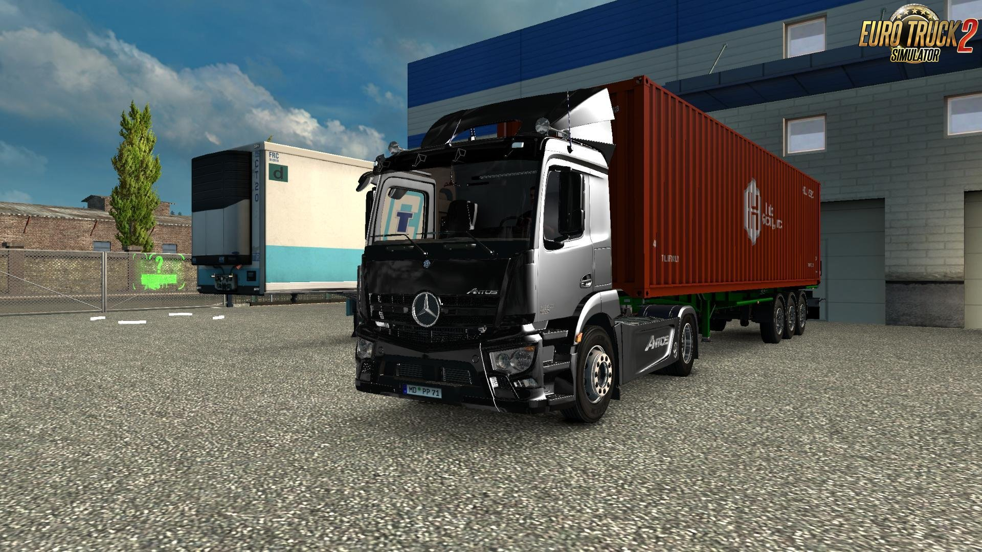 Mercedes Antos 1840 for Ets2 [1.27.x]