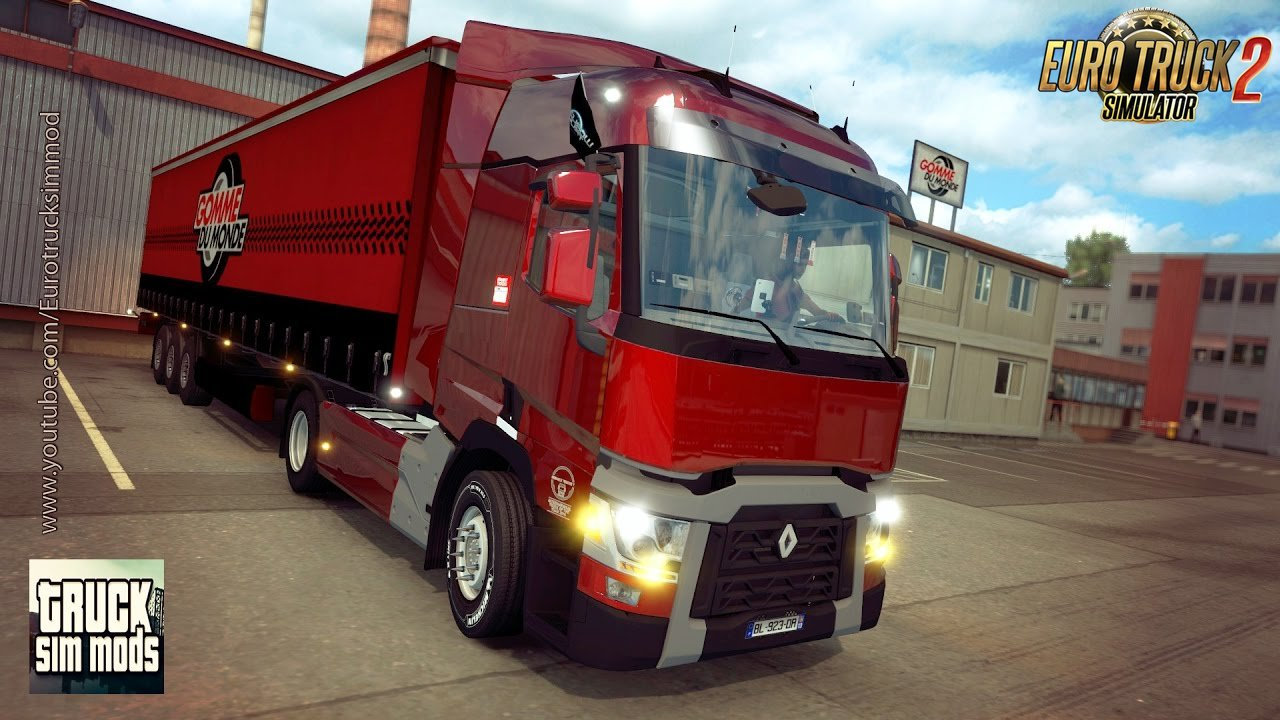 renault range t480 by polatl mods euro truck. Black Bedroom Furniture Sets. Home Design Ideas