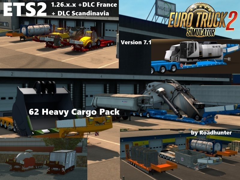 62 Roadhunter Heavy Load Pack for Ets2 [1.26.x]