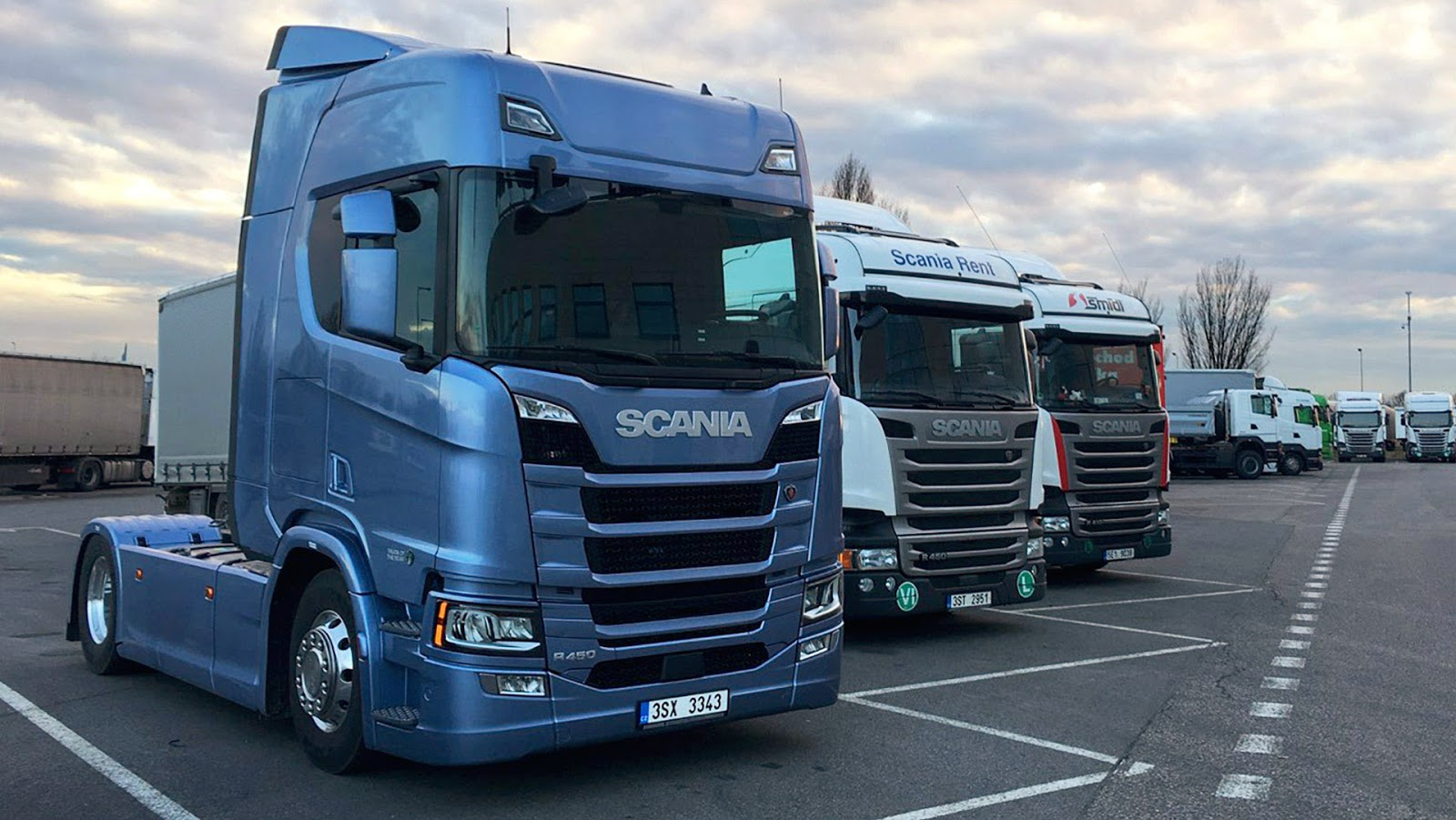 Sound recording - SCANIA S and R
