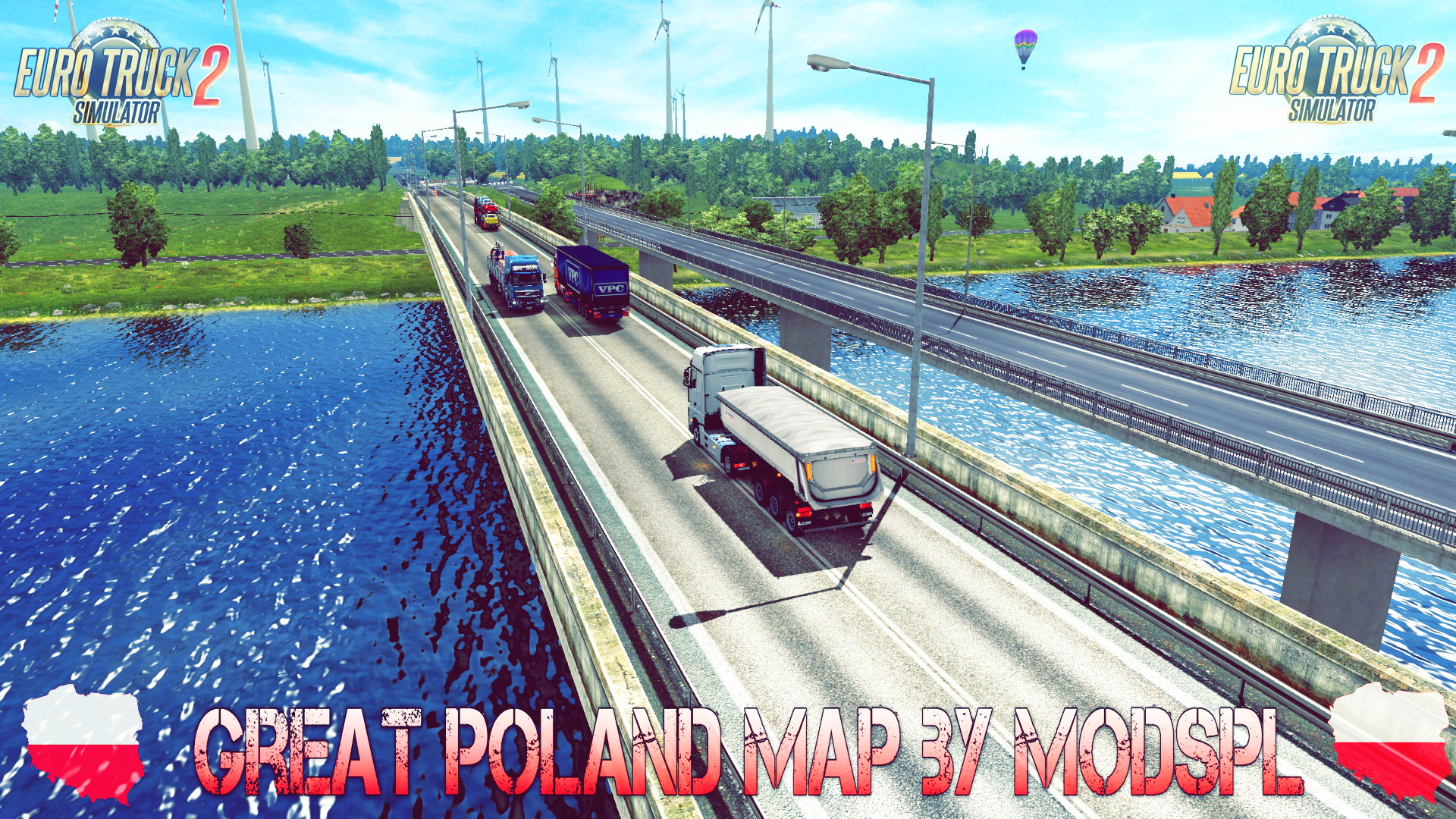 Great Poland Map v1.1.7 by ModsPL (1.27.x) - Euro Truck Simulator 2