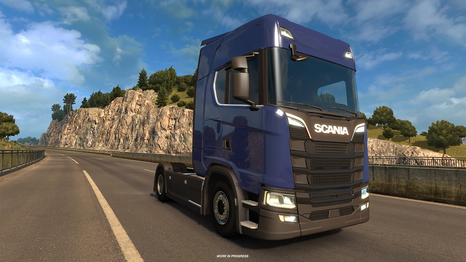 SCANIA S and R Truck Models Development Update