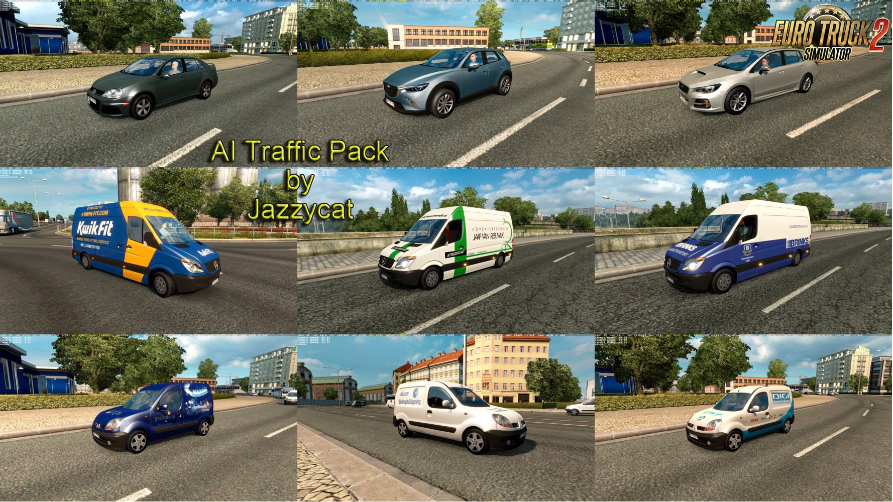 AI Traffic Pack v4.9 by Jazzycat