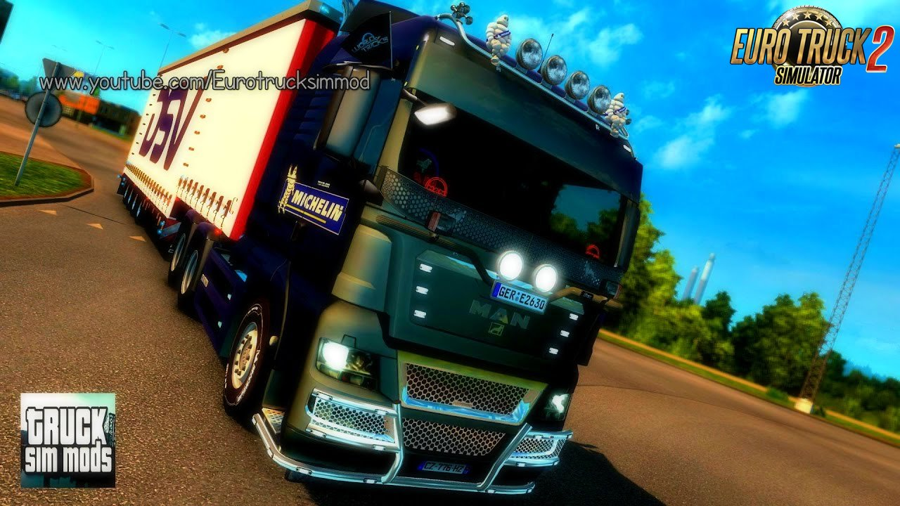 MAN TGX 2010 v3.1 (1.27.x) - Euro Truck Simulator 2