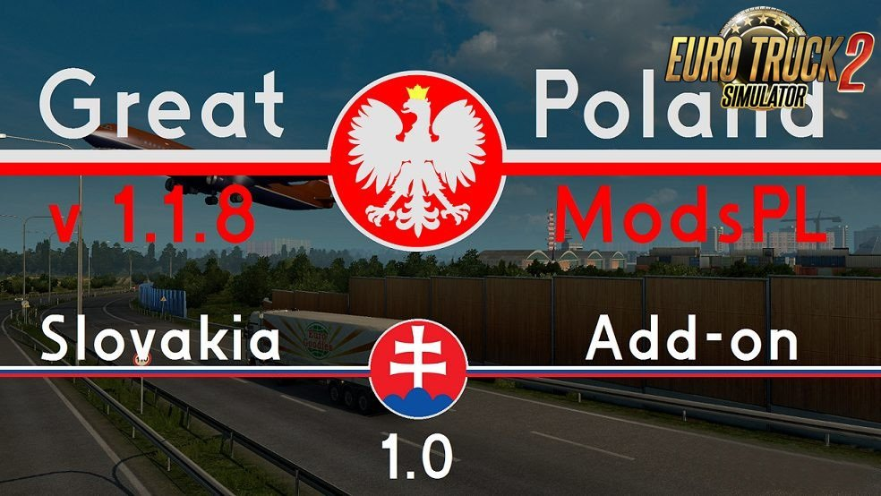 Great Poland v 1.1.8 by ModsPL + Slovakia Add-on 1.0