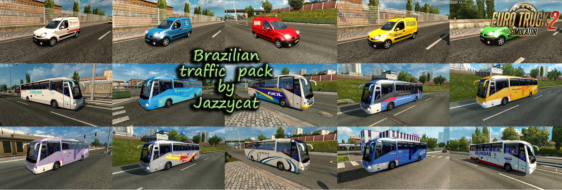 Brazilian Traffic Pack v1.7 by Jazzycat (1.27.x)