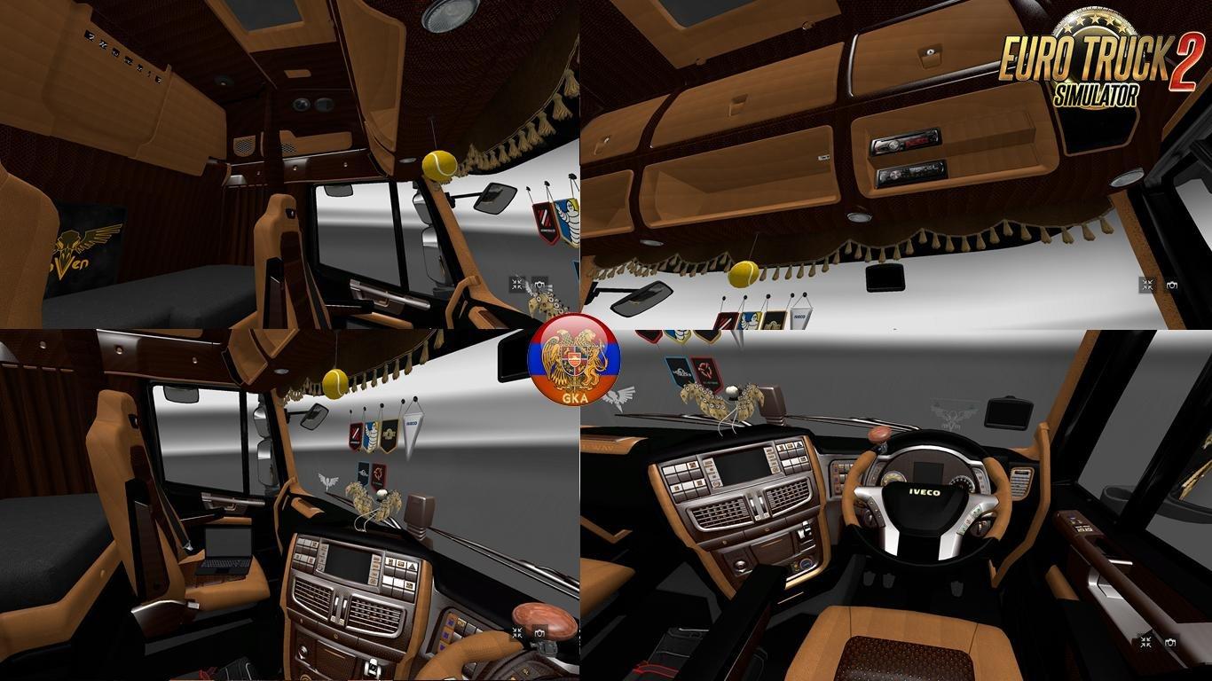 Iveco Hi-Way New Animations Interior v1.0 (1.27.x)