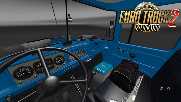 zil 130 131 interior v1 0 download ets 2 mods truck mods euro truck simulator 2. Black Bedroom Furniture Sets. Home Design Ideas