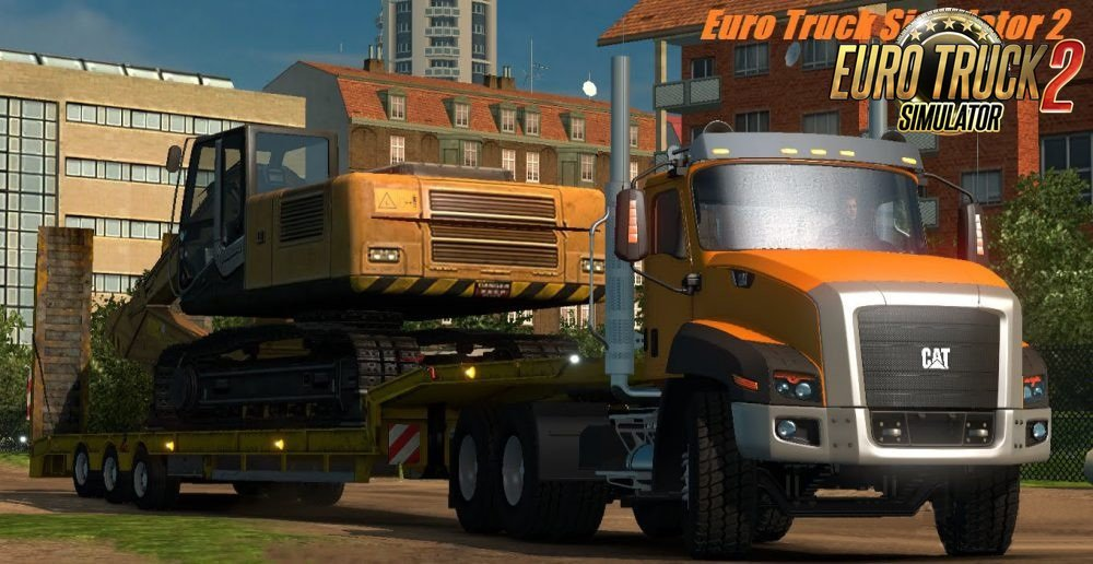 Truck CAT CT660 for Ets2