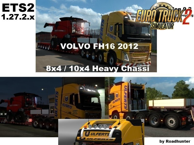 Volvo FH 2012 8x4 and 10x4 v9.2 [1.27.2.x]