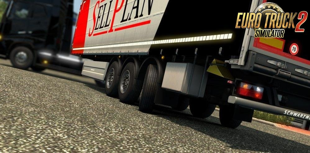 Steerable Axles for Schwarzmuller Curtain Trailer [1.27.x]