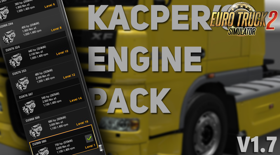 Kacpers Engine Pack v1.7 [1.27.x]