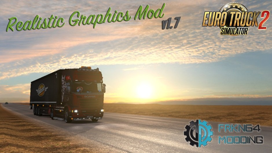 Realistic Graphics Mod v1.7.1 by Frkn64 [1.27.x]