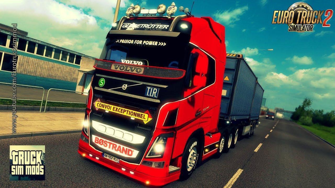 Volvo FH 2013 v20.25s by ohaha (1.27.x) - Euro Truck Simulator 2