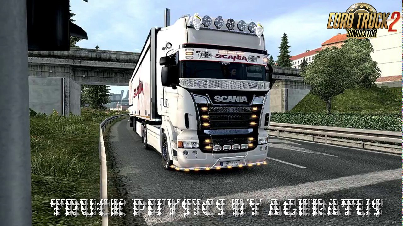 Truck Physics  v4.8 by Ageratus (1.27.x)