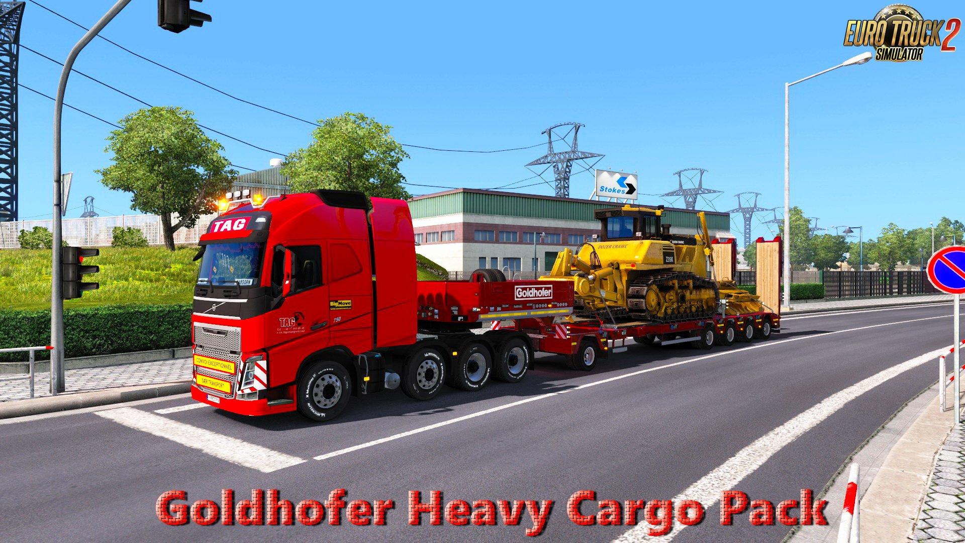 Goldhofer Heavy Cargo Pack v1.0 (1.27.x)