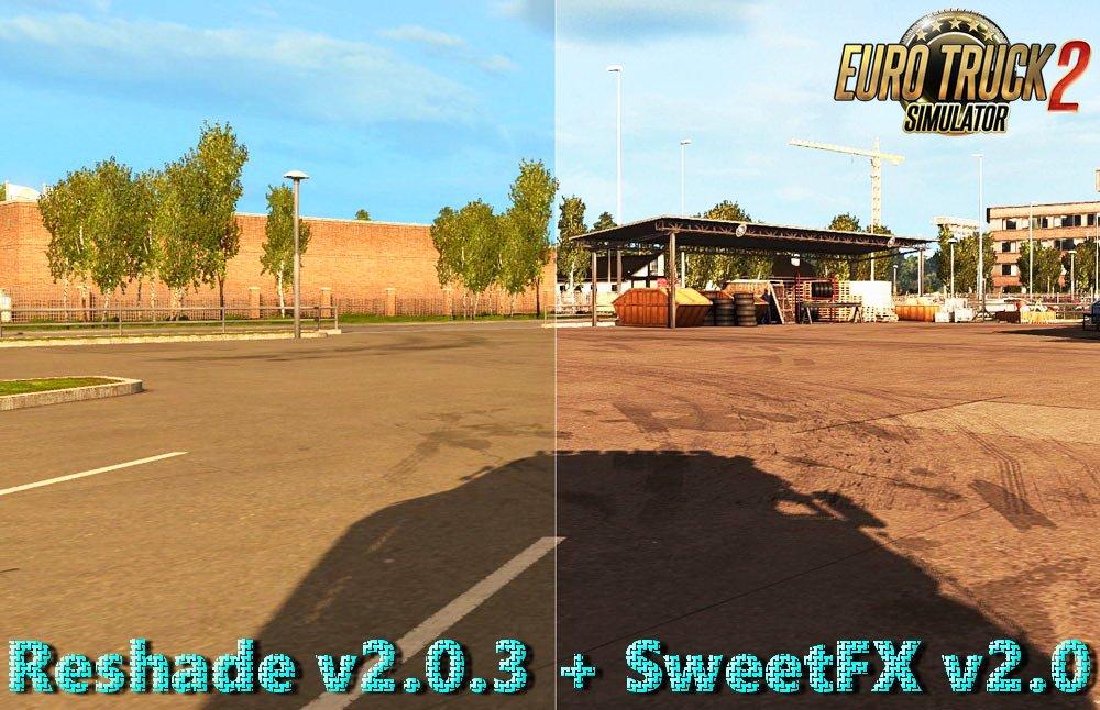 Reshade v2.0.3 + SweetFX v2.0 (1.27.x)