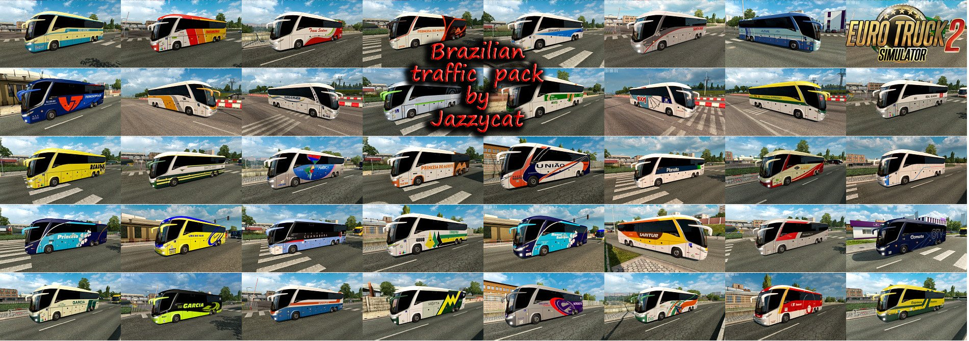 Brazilian Traffic Pack v1.7.1 by Jazzycat