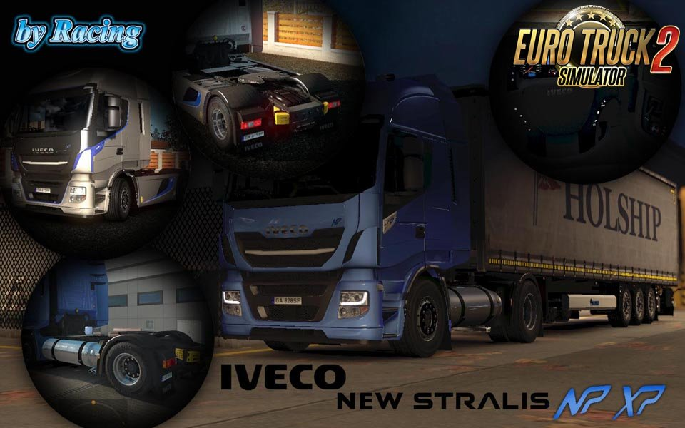 Iveco Stralis XP & NP by Racing [1.27.x]
