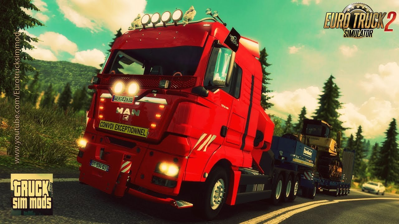 MAN TGX 2010 v 3.5 by XBS (1.27.x) - Euro Truck Simulator 2