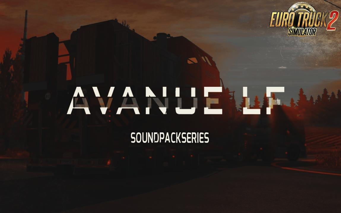 AvanueLf Sound Pack v10.5 for Ets2