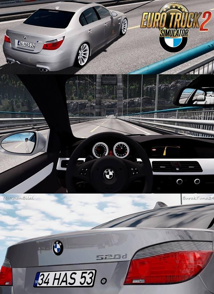 BMW 5 Series E60 Pack [1.27.x]