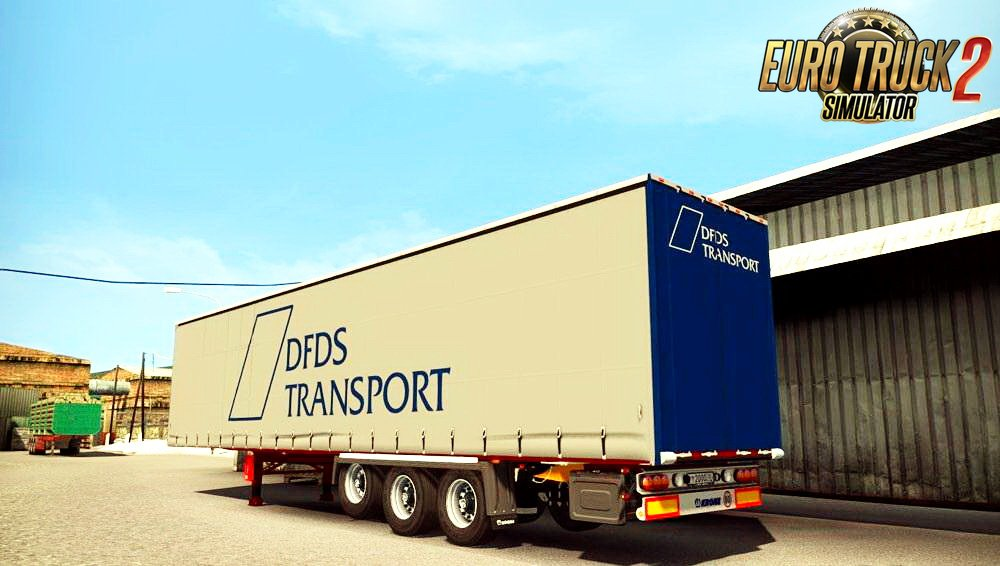 DFDS Transport Trailer v1.0 (1.27.x)