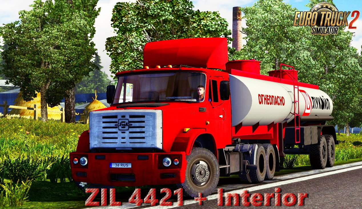 ZIL 4421 + Interior v1.0 (1.27.x)