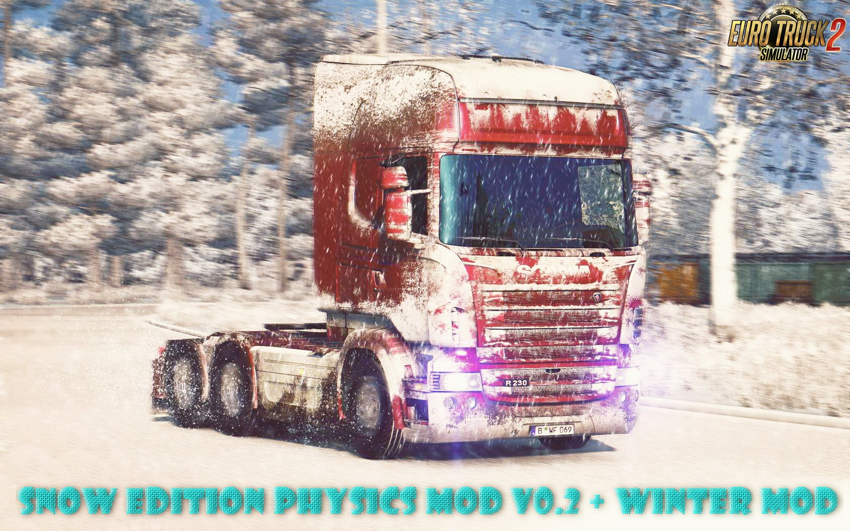 Snow Edition Physics Mod v0.2 + Winter Mod v1.0 (1.27.x)