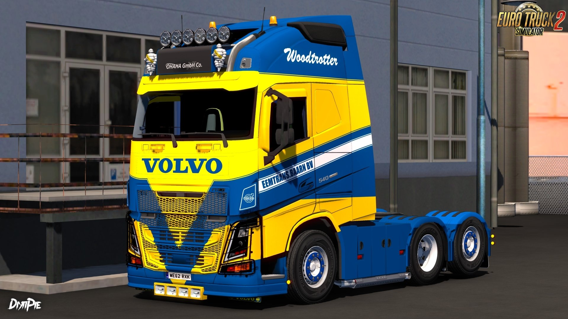 Eemtrans.Baarn BV Skin for Volvo FH16 by Ohaha v1.0 (1.27.x)