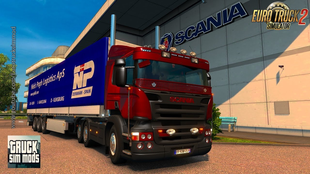 Scania P modifications v1.3 by GT-Mike & Nazgûl - Euro Truck Simulator 2
