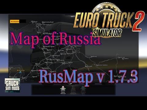 RusMap v1.7.3 (1.27.x) - Euro Truck Simulator 2