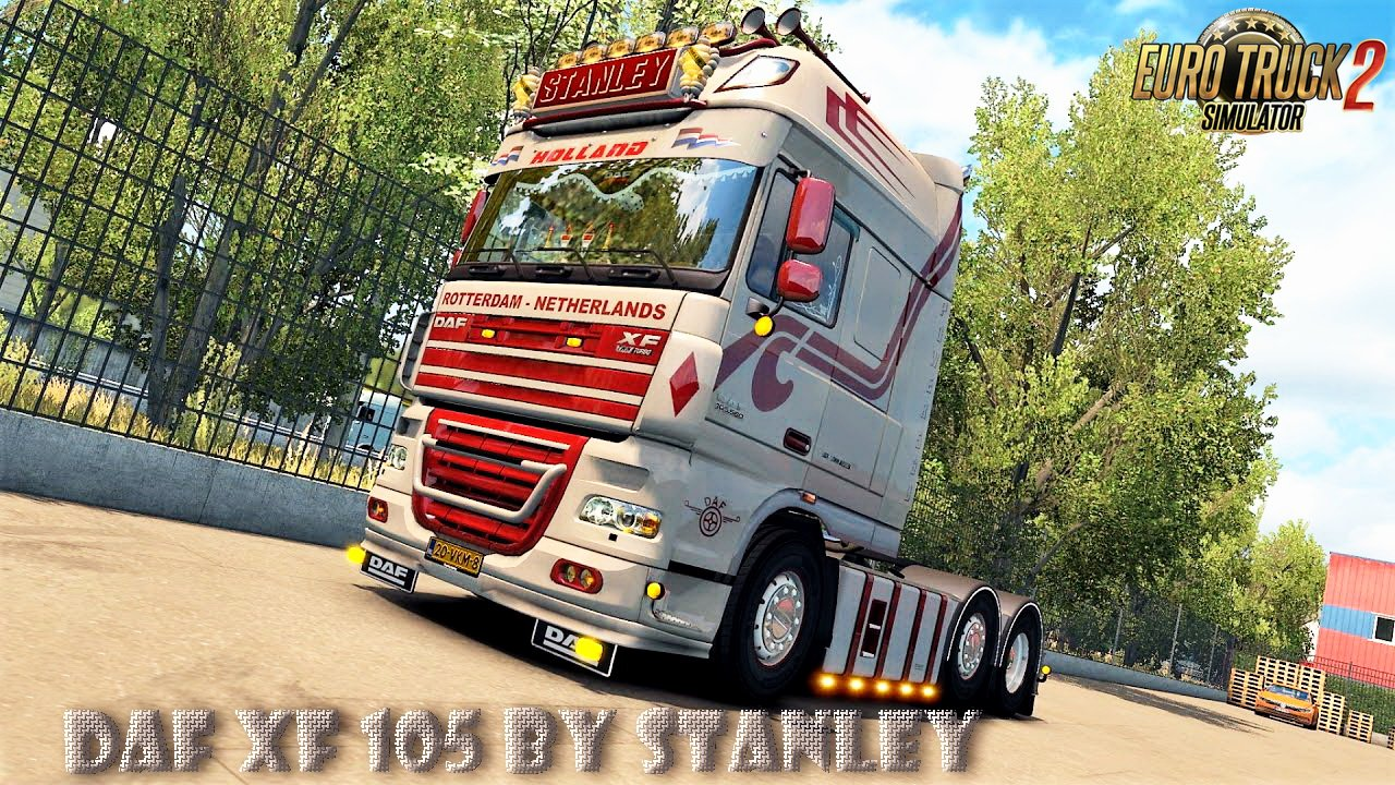 Fixed DAF XF 105 v1.6 + Template by Stanley (1.36.x)