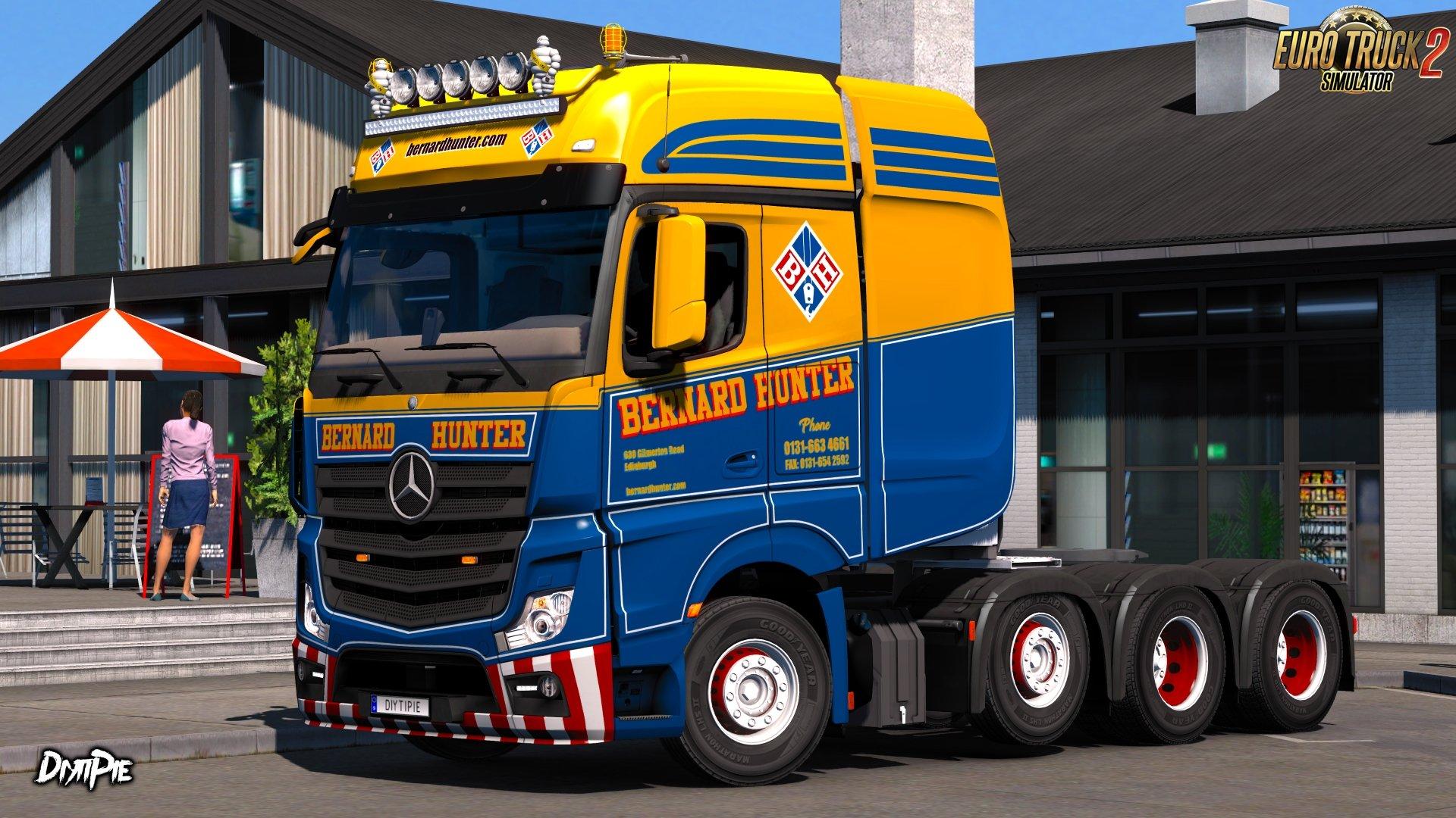 Bernard Hunter Skin for Mercedes-Benz Big Stars Actros v1.0 (1.27.x)