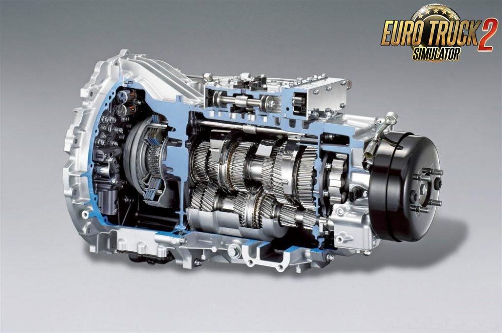 16+2 Converter Transmission for Ets2 by adi2003de
