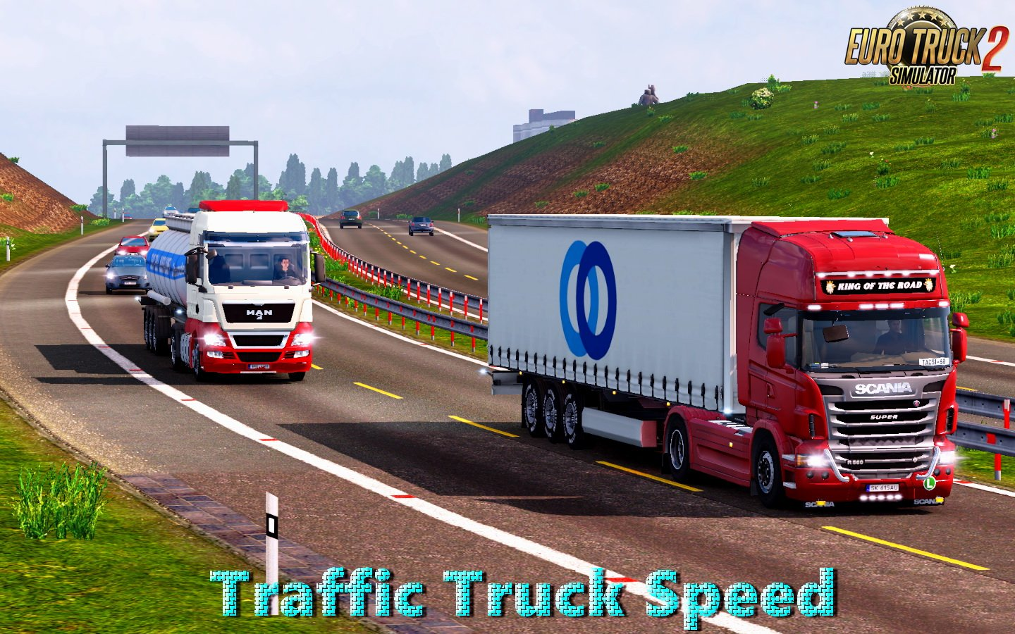 Traffic Truck Speed v1.2 (1.27.x)